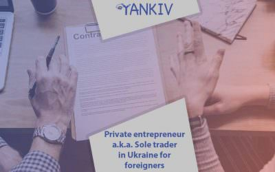 Private entrepreneur (Sole trader) in Ukraine