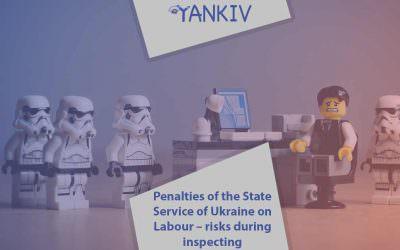 Penalties of the State Service of Ukraine on Labour - risks during inspecting